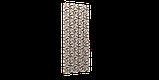 Декоративна тканина пір'я коричневі на бежевому тлі Туреччина 88027v9, фото 7
