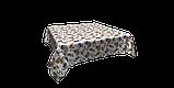 Декоративная ткань огурцы красно-желтые на белом фоне Турция 88026v5, фото 3