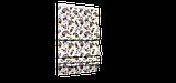 Декоративная ткань огурцы красно-желтые на белом фоне Турция 88026v5, фото 5