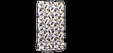 Декоративная ткань огурцы красно-желтые на белом фоне Турция 88026v5, фото 6