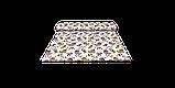 Декоративна тканина огірки червоно-жовті на білому тлі Туреччина 88026v5, фото 8