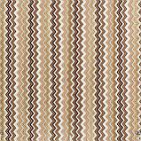 Декоративна тканина зигзаги міссоні коричні білі Туреччина 88008v9, фото 2