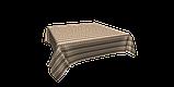 Декоративна тканина зигзаги міссоні коричні білі Туреччина 88008v9, фото 3