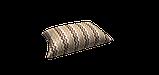 Декоративна тканина зигзаги міссоні коричні білі Туреччина 88008v9, фото 4