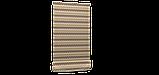 Декоративна тканина зигзаги міссоні коричні білі Туреччина 88008v9, фото 6