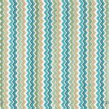 Декоративная ткань зигзаги миссони бирюзовые белые Турция 88006v6, фото 2