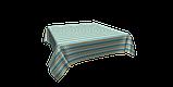 Декоративная ткань зигзаги миссони бирюзовые белые Турция 88006v6, фото 3