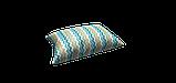 Декоративная ткань зигзаги миссони бирюзовые белые Турция 88006v6, фото 4