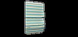 Декоративная ткань зигзаги миссони бирюзовые белые Турция 88006v6, фото 6