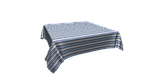 Декоративна тканина зигзаги міссоні блакитні білі Туреччина 88004v2, фото 3
