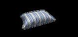 Декоративна тканина зигзаги міссоні блакитні білі Туреччина 88004v2, фото 4