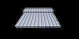 Декоративна тканина зигзаги міссоні блакитні білі Туреччина 88004v2, фото 7