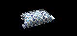 Декоративна тканина геометрія шестикутники сині на білому тлі Туреччина 87998v7, фото 4