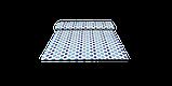 Декоративна тканина геометрія шестикутники сині на білому тлі Туреччина 87998v7, фото 8
