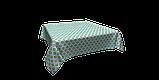 Декоративна тканина геометрія шестикутники зелені на білому тлі Туреччина 87997v6, фото 3