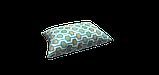 Декоративна тканина геометрія шестикутники зелені на білому тлі Туреччина 87997v6, фото 4