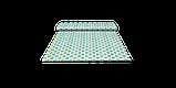 Декоративна тканина геометрія шестикутники зелені на білому тлі Туреччина 87997v6, фото 8