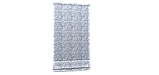 Декоративна тканина квіти сакура сині Туреччина 88003v14, фото 6