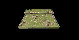 Декоративна тканина квіти на зеленому тлі Туреччина 87978v10, фото 8