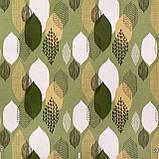 Декоративна тканина краплі зелені Туреччина 87975v14, фото 2