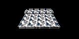 Декоративна тканина краплі сіро-чорні Туреччина 87976v1, фото 8