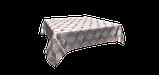 Декоративная ткань сине-оранжевая волна Турция 87964v3, фото 3
