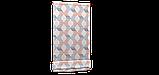 Декоративная ткань сине-оранжевая волна Турция 87964v3, фото 5