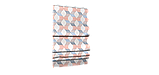Декоративная ткань сине-оранжевая волна Турция 87964v3, фото 6