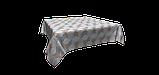 Декоративная ткань сине-голубая волна Турция 87963v2, фото 3