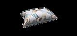 Декоративная ткань сине-голубая волна Турция 87963v2, фото 4