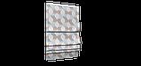 Декоративная ткань сине-голубая волна Турция 87963v2, фото 6