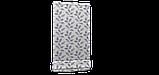 Декоративная ткань синие листья на сером фоне Турция 87961v3, фото 5