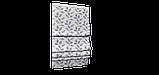 Декоративная ткань синие листья на сером фоне Турция 87961v3, фото 6