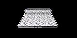 Декоративная ткань синие листья на сером фоне Турция 87961v3, фото 8