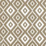 Декоративна тканина геометрія бежева Туреччина 87973v4, фото 2