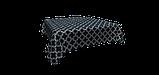 Декоративна тканина білий візерунок на синьому тлі Туреччина 87913v3, фото 4