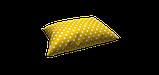 Декоративная ткань горох на желтом фоне Турция 81481v5, фото 4