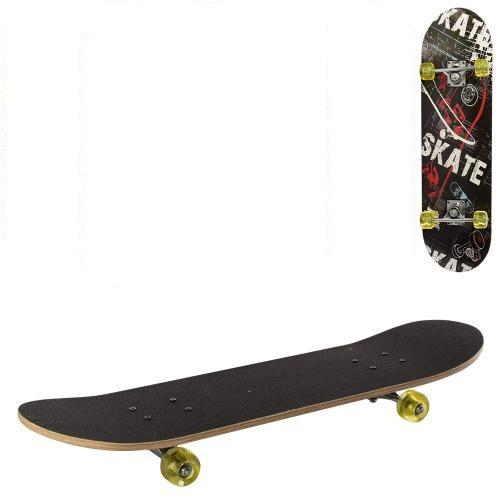 Скейтборд Profi Black