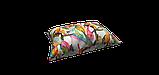 Декоративная ткань розовые и оранжевые цветы на белом фоне Испания 87892v1, фото 3