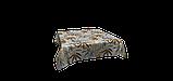 Декоративная ткань серые и коричневые листья Испания 87886v1, фото 4