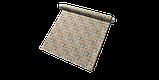 Декоративна тканина помаранчеві і блакитні смуги на білому тлі Іспанія 87881v8, фото 7