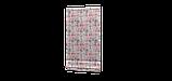 Декоративна тканина рожеві і блакитні смуги на білому тлі Іспанія 87880v7, фото 5