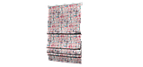 Декоративна тканина рожеві і блакитні смуги на білому тлі Іспанія 87880v7, фото 6