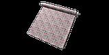 Декоративна тканина рожеві і блакитні смуги на білому тлі Іспанія 87880v7, фото 8