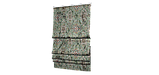 Декоративна тканина коричневий вензель на зеленому тлі Іспанія 87874v4, фото 5