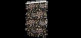 Декоративна тканина коричневі квіти з листям на зеленому тлі Іспанія 87872v6, фото 5