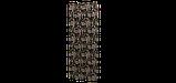 Декоративна тканина коричневі квіти з листям на зеленому тлі Іспанія 87872v6, фото 6