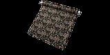 Декоративна тканина коричневі квіти з листям на зеленому тлі Іспанія 87872v6, фото 7
