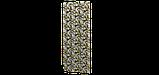 Декоративна тканина тропічні листя оливкові з тефлоновим просоченням Туреччина 87843v2, фото 3