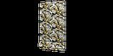 Декоративна тканина тропічні листя оливкові з тефлоновим просоченням Туреччина 87843v2, фото 4